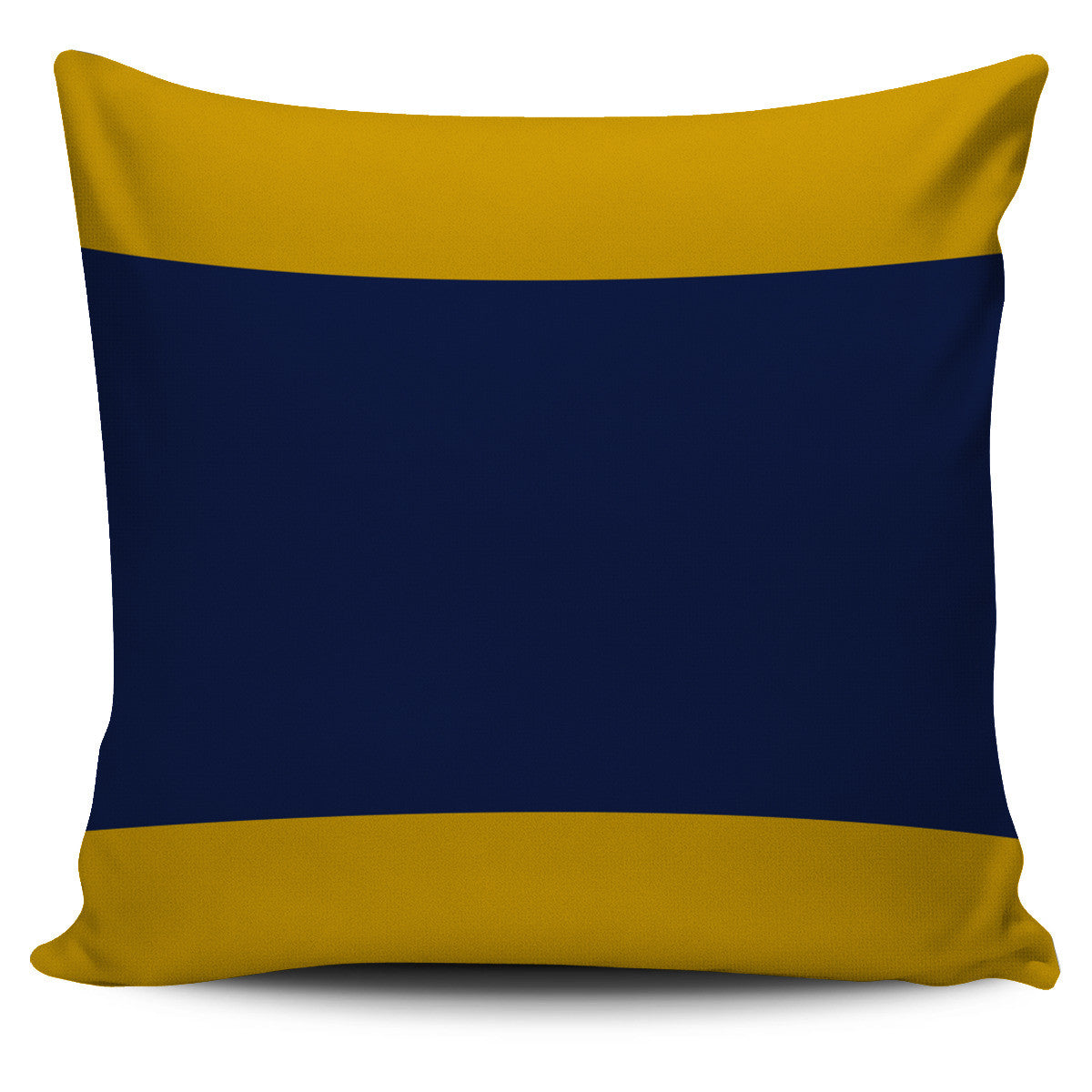 Letter D - Nautical Signal Flag Pillow Cover