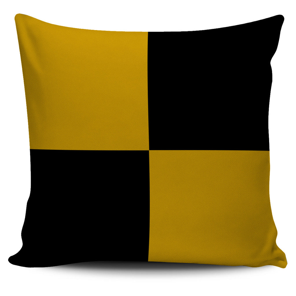 Letter L - Nautical Signal Flag Pillow Cover