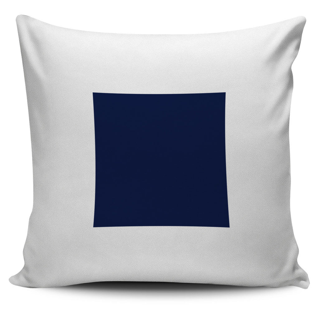 Letter S - Nautical Signal Flag Pillow Cover