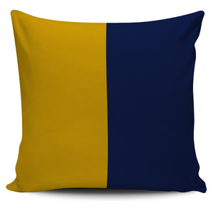 Letter K - Nautical Signal Flag Pillow Cover