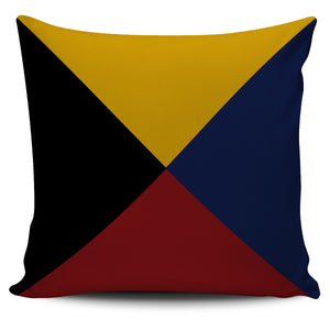 Letter Z - Nautical Signal Flag Pillow Cover