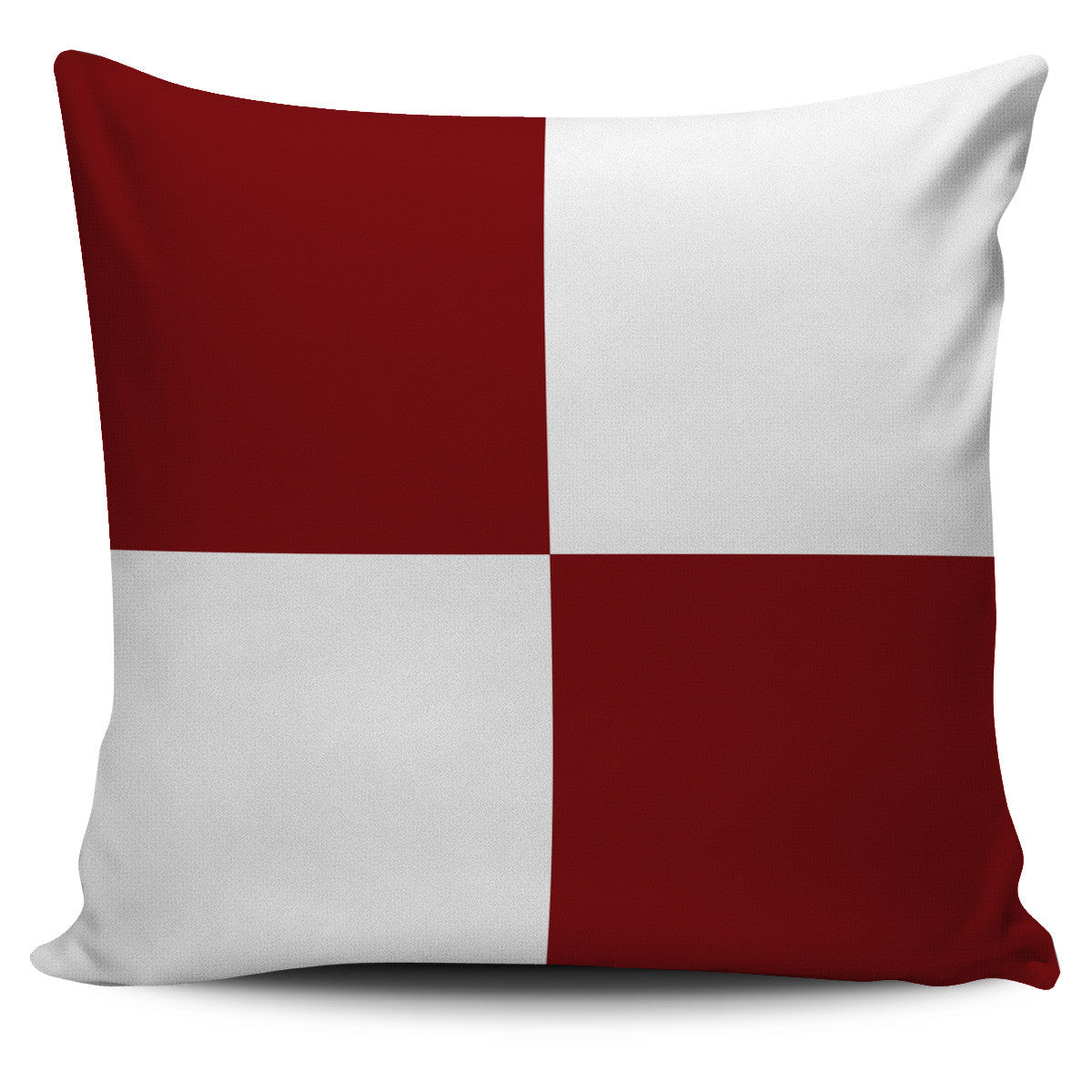 Letter U - Nautical Signal Flag Pillow Cover