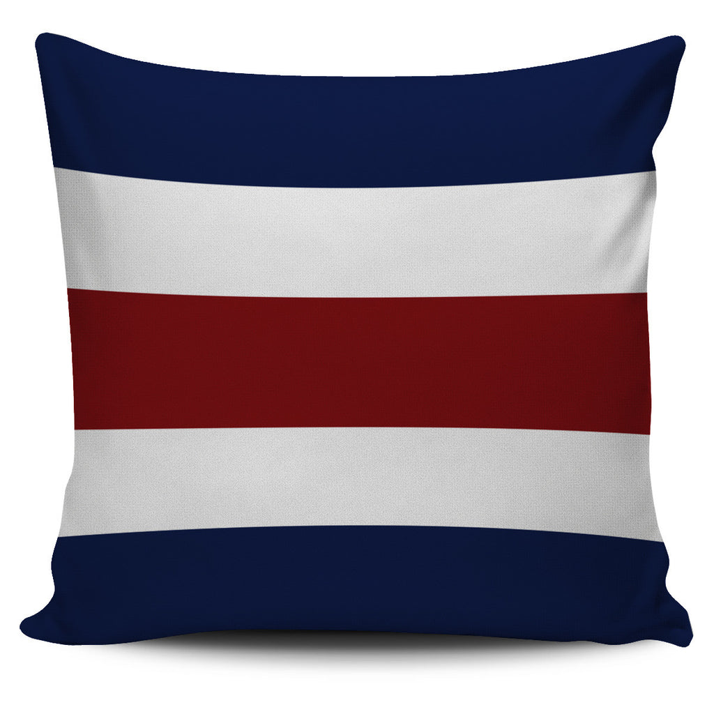 Letter C - Nautical Signal Flag Pillow Cover