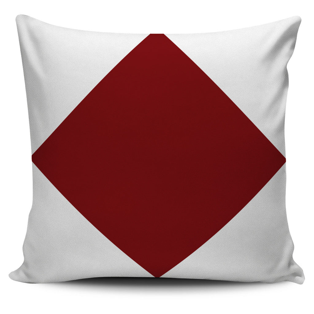 FREE Sample - Nautical Flag Pillow Cover - Letter F