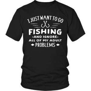 Limited Edition -I Just Want To Go Fishing