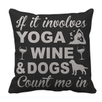 Limited Edition - Yoga Wine Dogs