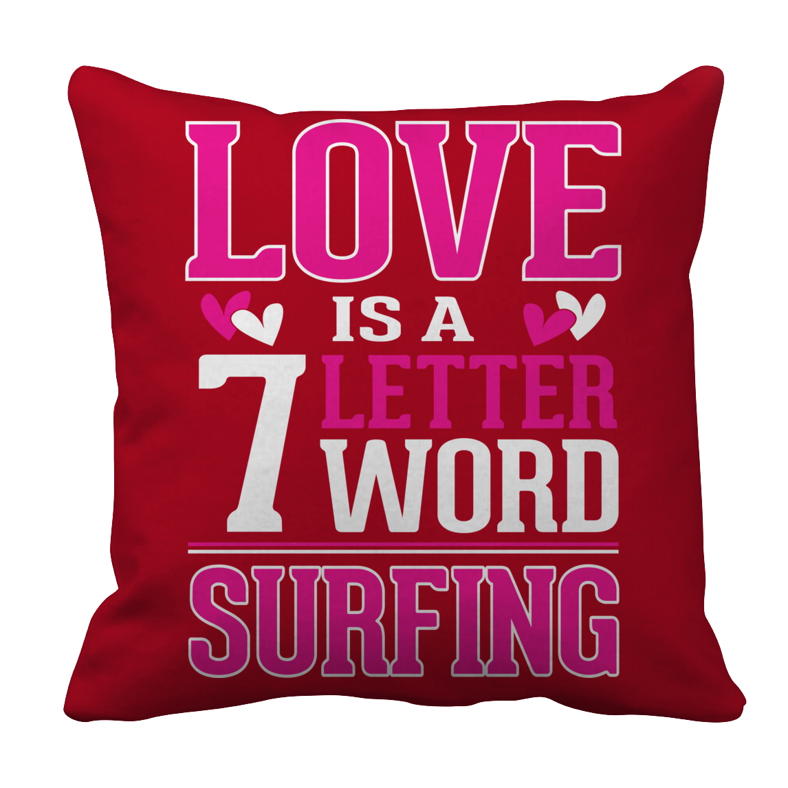 Limited Edition - Love Is a & Letter Word Surfing
