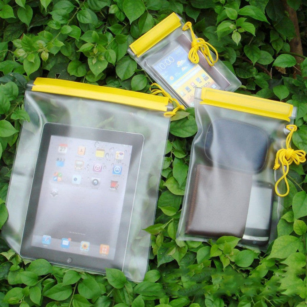 Waterproof Dry Bag Protective Pouch 3-piece bundle