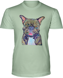 [french bulldog t shirt] - Malika Pet Art