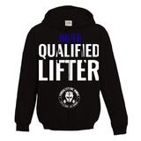 Qualifed Lifter Unisex Zip-Up Hoodie