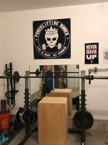 Skully Gym Banner ONLY TWO LEFT!!!