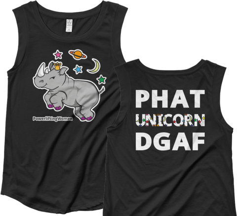 PHAT Unicorn Women's Muscle Tank