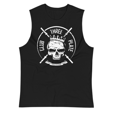 Three Plate Club Unisex Muscle Shirt