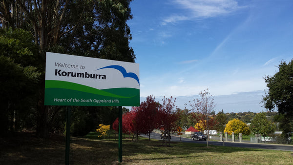 Welcome to Korumburra,  Heart of South Gipplsand