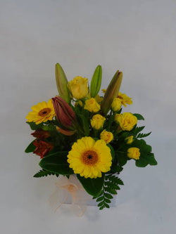 Modern Floral Arrangement in a box