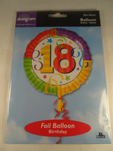 18th Birthday Helium Balloon