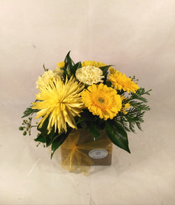 Sunshine yellow arrangement
