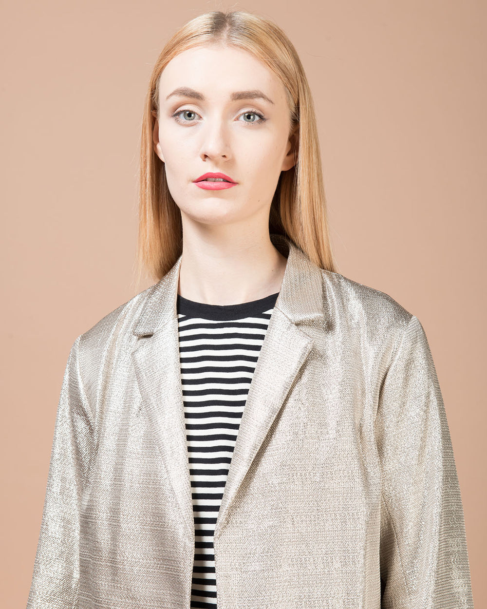 Silver Lurex Jacket