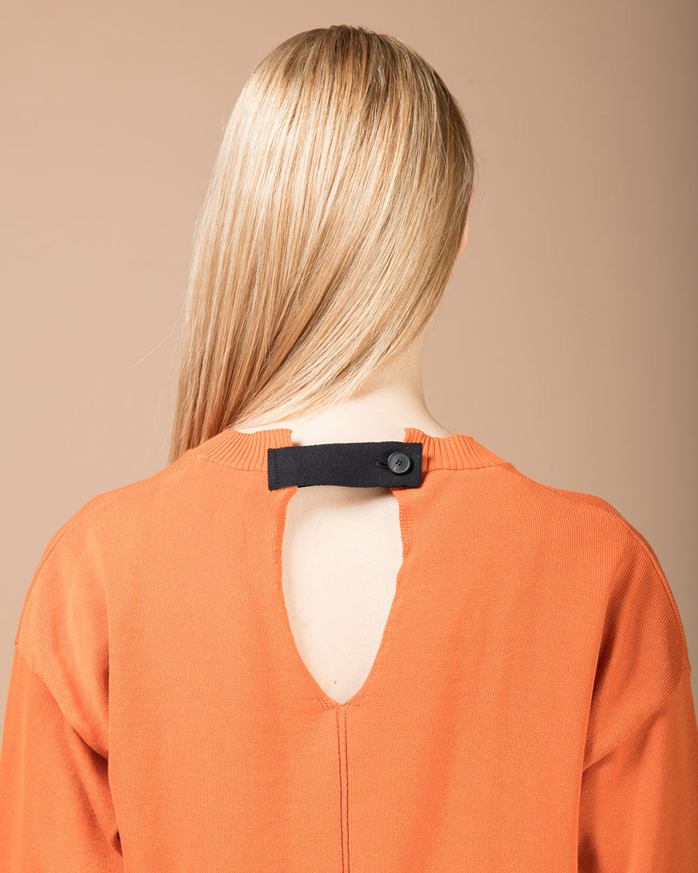 Orange Long Sleeve Sweater