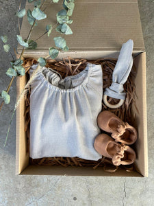 Pia grey Gift Box