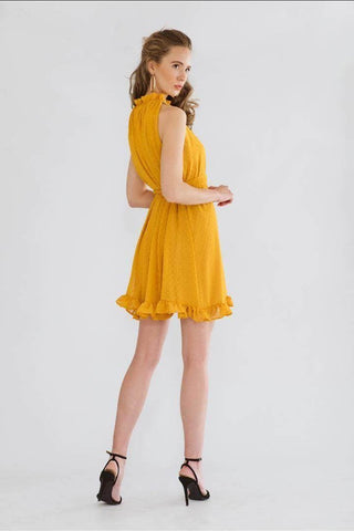 Gia Dress Yellow