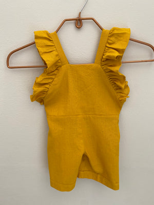 Florence Dungaree - Gold