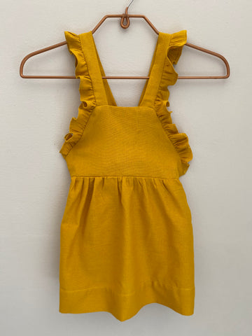 Florence Dress - Gold