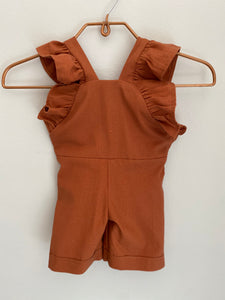 Florence Dungaree - Ginger