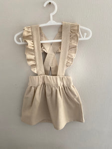 Florence Pinafore - Oatmeal