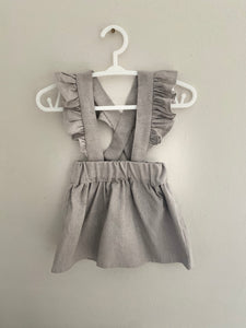Florence Pinafore - Grey