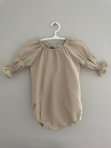 Pia Playsuit Oatmeal