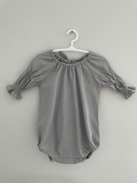 Pia Playsuit Grey