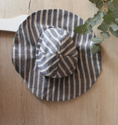 Stripe Floppy Hat