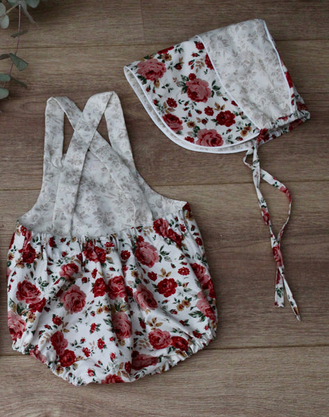 Red Rose Romper