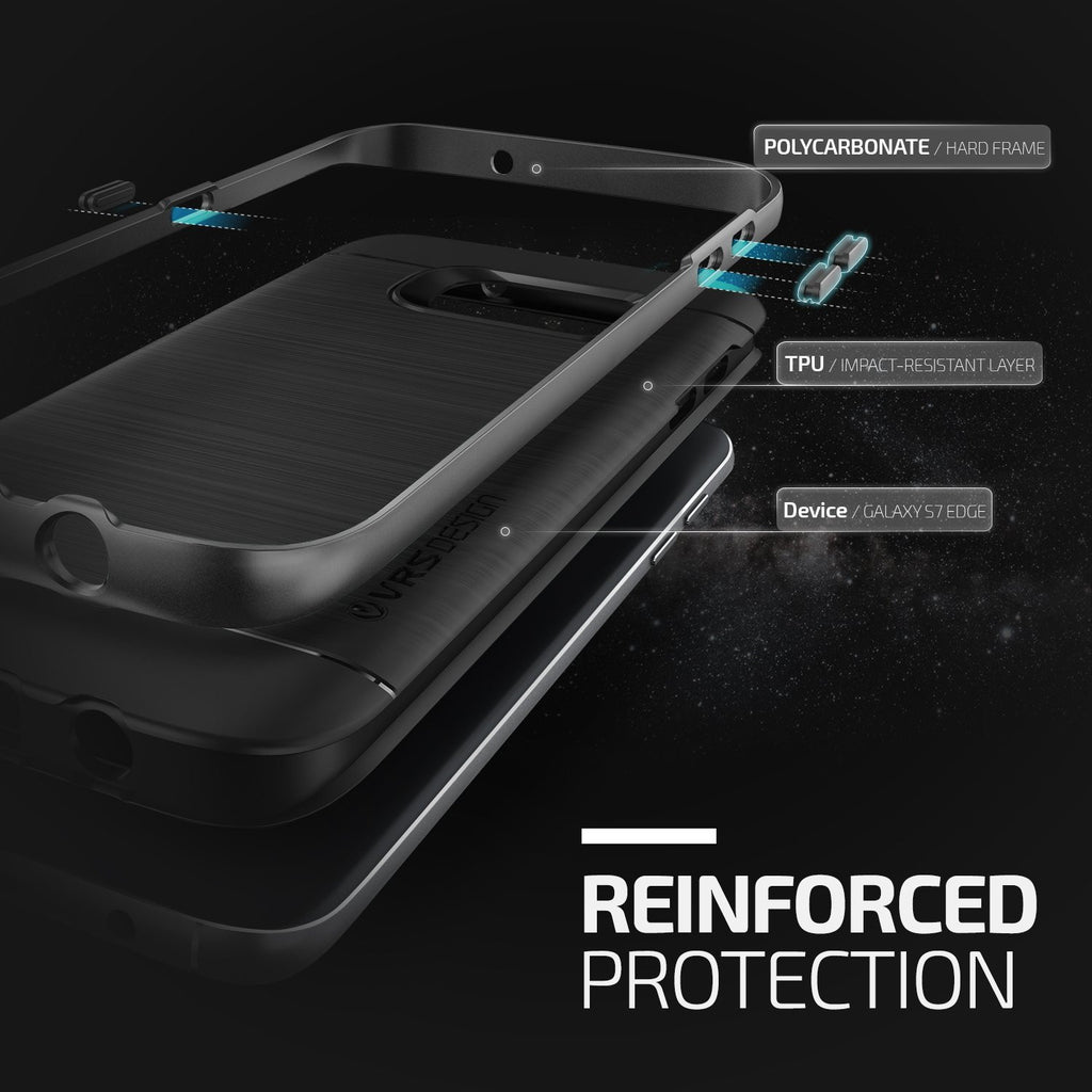 High Pro Shield - For Galaxy S7 Edge