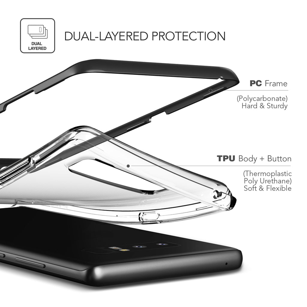 Crystal Bumper - for Galaxy Note 8
