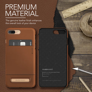 Simpli Leather - For iPhone 7 Plus / iPhone 8 Plus
