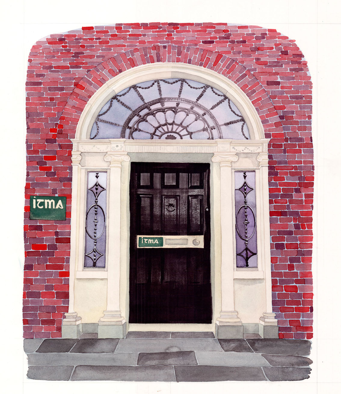 ITMA Greeting Cards - Artwork by Sinéad Kennedy