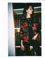 Red Camo Jacket - Woman