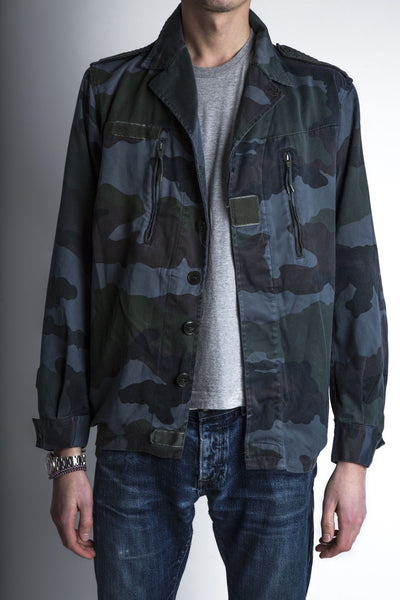 blue camo jacket for men