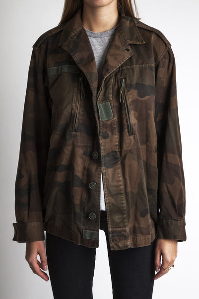 brown camo jacket for women
