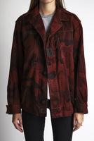 red camo jacket for women