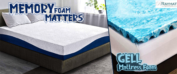 Which is a better memory foam or gel mattress topper?