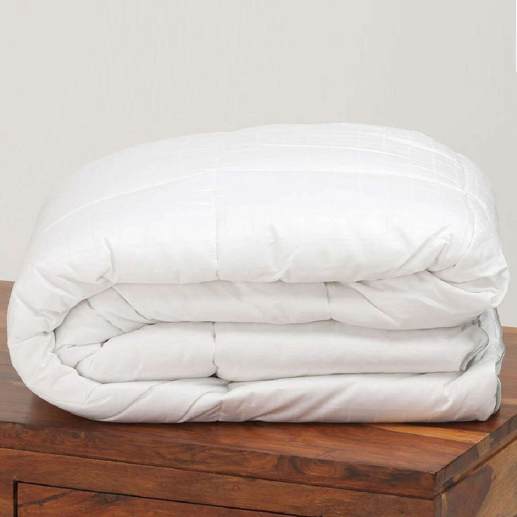 100% Pure Egyptian Cotton Cover Natural Merino Wool Perugiano Mattress Topper
