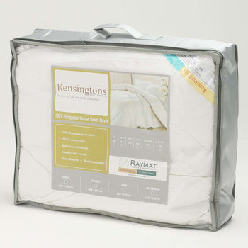 100% Pure Hungarian Goose Down Single Duvet 13.5 Tog