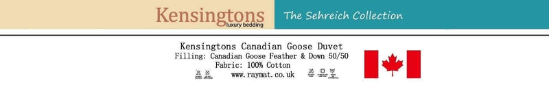 Canadian Goose Feather & Down Single Bed Duvet 50/50