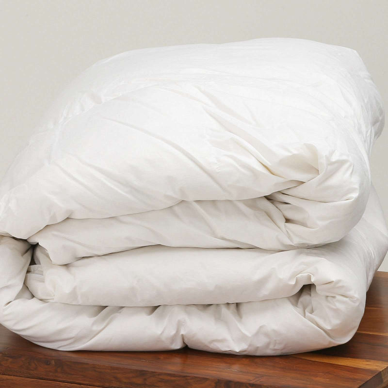 100% Pure Siberian Goose Down Duvet Double Bed 15 Tog  All Seasons 15.0 TOG