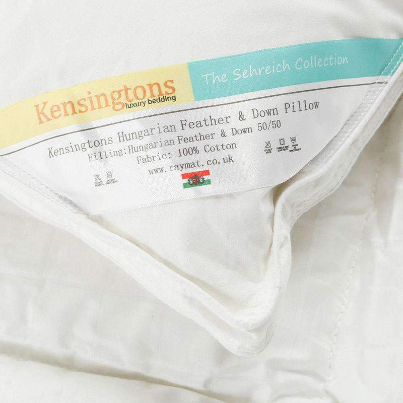 Kensingtons Hungarian Goose Feather & Down Luxury 1 x Pillow 1000G