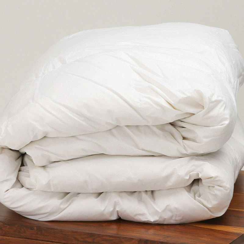 100% Pure Hungarian Goose Down Super King Bed Duvet 15 Tog