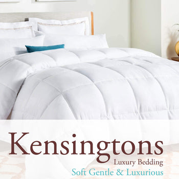 Kensingtons Silk Mulberry Filled Egyptian Cotton Double Bed Duvet 18 Tog